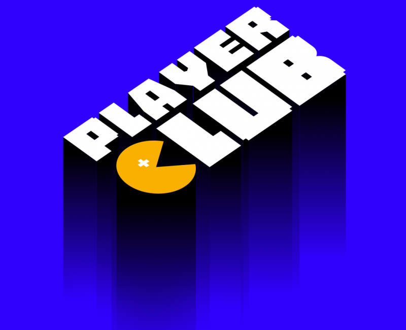 Logo - Player Club - Podcast